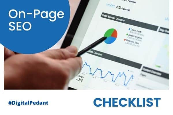 On-Page Checklist 2020