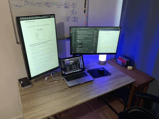 multiple monitors for seo
