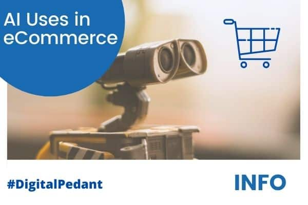 artificial intelligence uses in ecommerce shopping